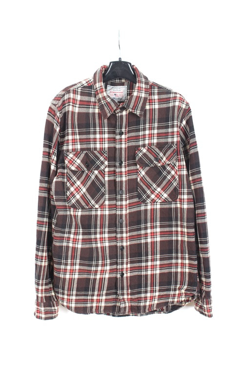 Avirex Union cotton check shirt (M)