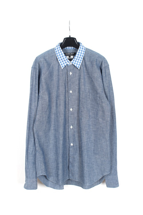 Comme des Garcons Homme Deux cotton detail shirt (made in japan) (M~L)