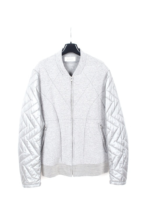 United Arrows x Un route quilting mix blouson jaket (M~L) (made in japan)