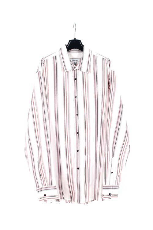 Calvin Clein pinstripe cotton shirt (XL)