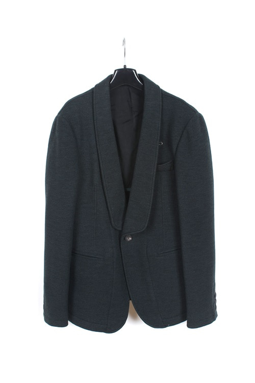 Emporio Armani one burtton knit blazer jaket (M~L) (made in italy)