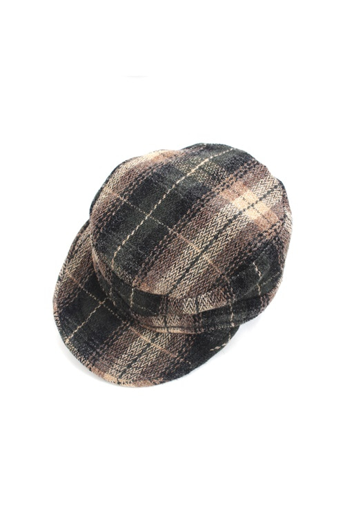 Newyork hat classic check hat (made in u.s.a) (S)