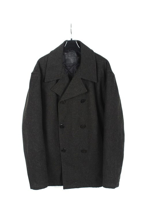 Medhectic haevy wool double p coat (made in japan) (L)