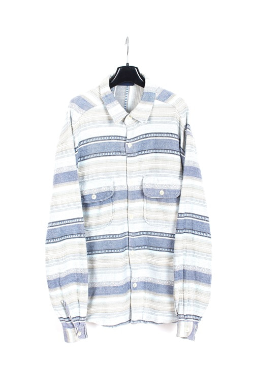 Billabong heavy cotton ethnic pattern shirt (L)