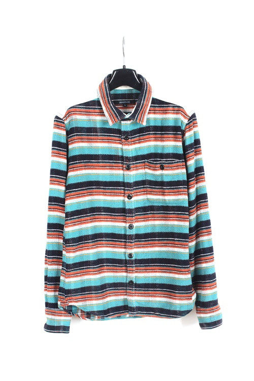 Aba House cotton pattern shirt (M)