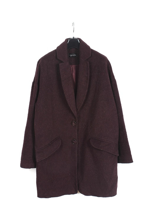 Topshop angora single coat  (womens item) (M)
