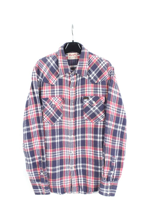 Wrangler haevy cotton check shirt (L)