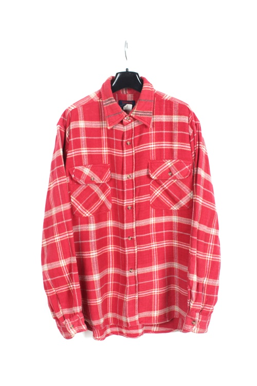 Edwin haevy cotton check shirt (M~L)