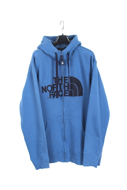 The North Face cotton hood zipup (L)