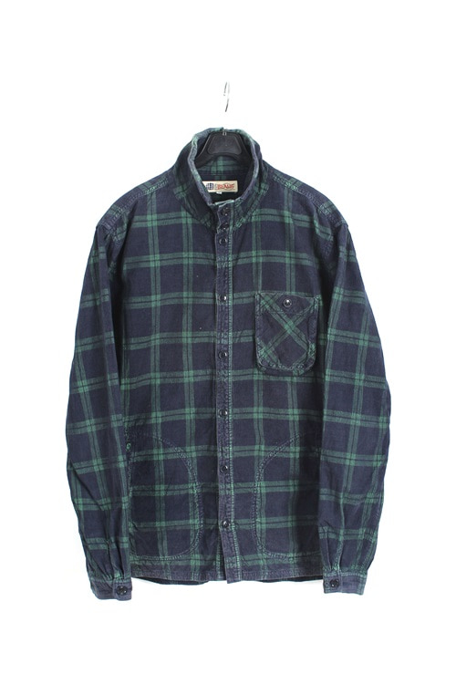 Beams hineck coduroy shirt (M~L)