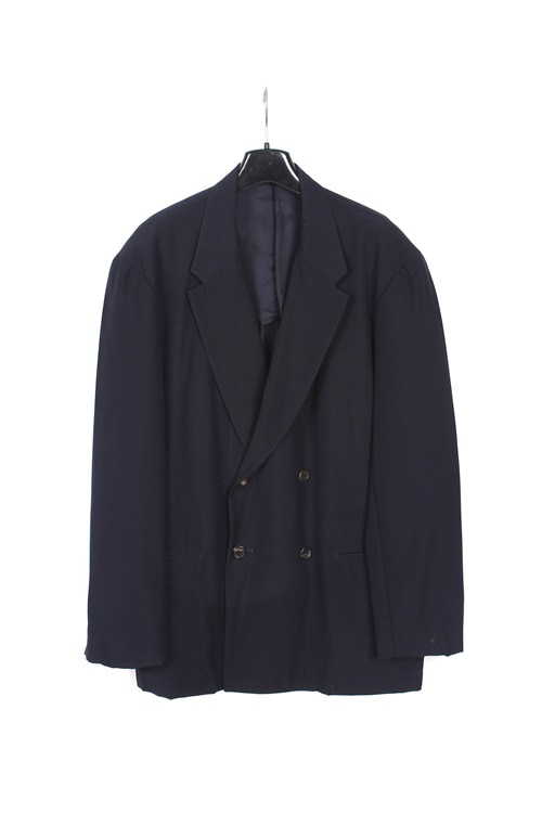 Yohji Yamamoto by Y's for men navy double brested jaket (M~L) (made in japan)