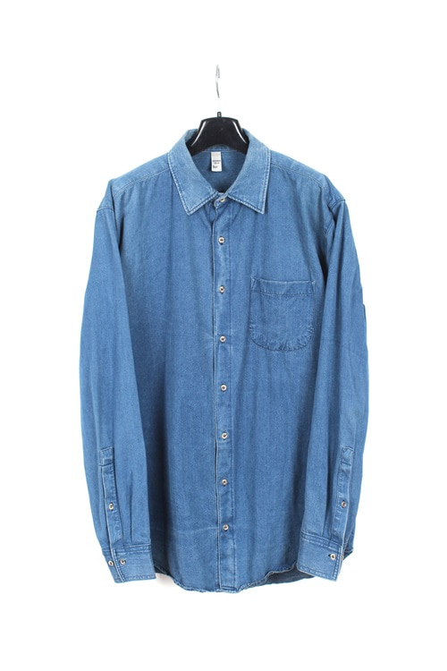American Apparel denim shirt (L) (made in u.s.a)