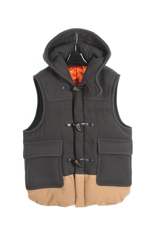 Comme des Garcons by Junya Watanabe down vest (M~L) (made in japan)