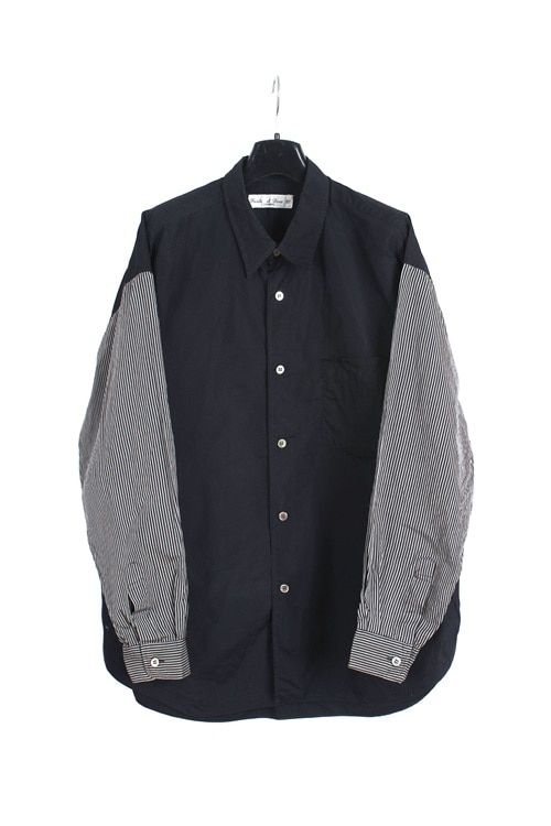 trente et deux 32 homme mix cotton shirt (M~L) (made in japan)