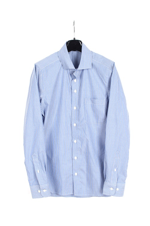 Muji pinstripe cotton shirt (M)