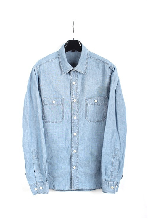 Muji cotton shirt (M~L)