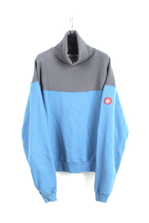 Cav Empt turtle neck cotton sweat shirt (M~L) (made in japan)