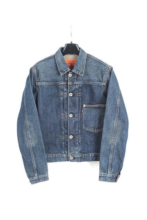 Levi's denim trucker jaket (S~M) (womens item)