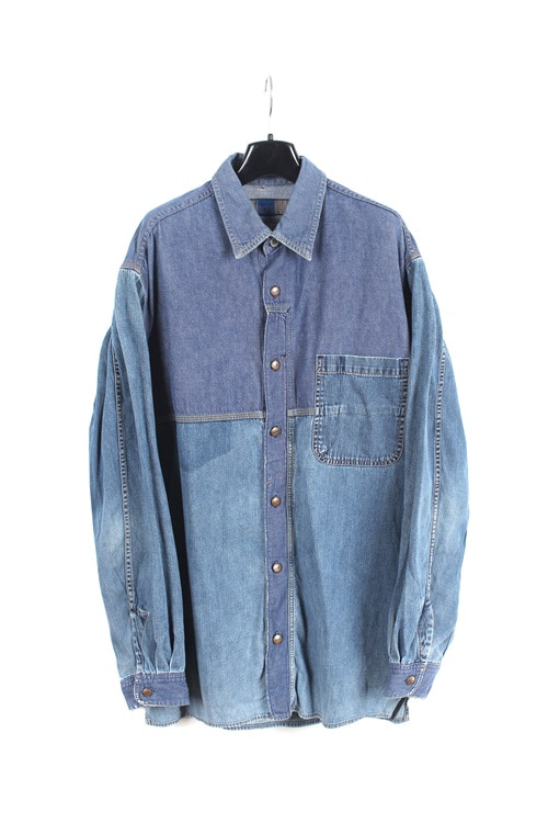 Marthe Franconrs Girbaud denim shirt (L)