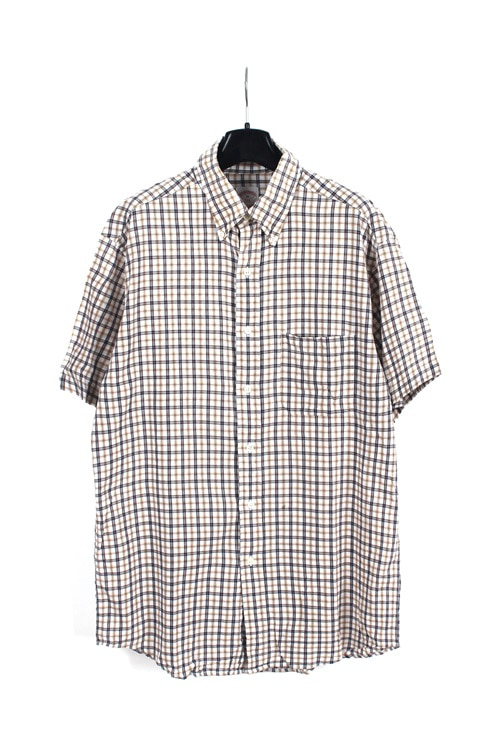 Brooks Brother 1/2 check shirt (L)