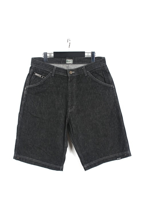 Rokets denim harf pants (33) (made in u.s.a)